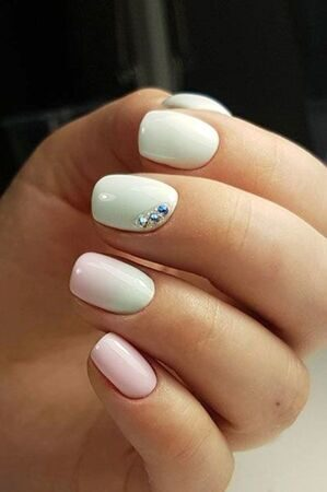 pinterest-nails-ombre-white-and-pink-manicure-by-irina-bashkirova