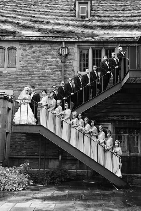 classic-wedding-photo-ideas-with-bridesmaid-and-groomsmen-